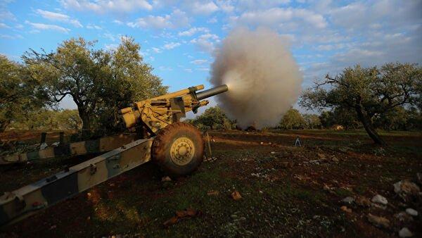 Турецкие военные нанесли удары по сирийской армии
