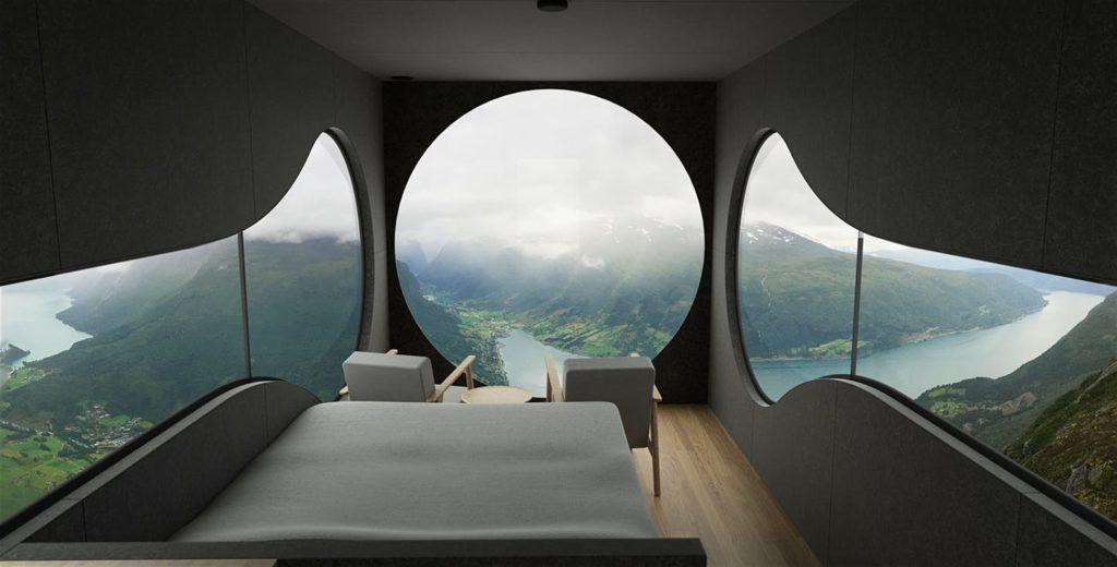 Норвегии Birdbox