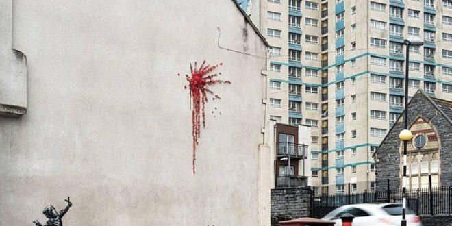 Бэнкси новое граффити