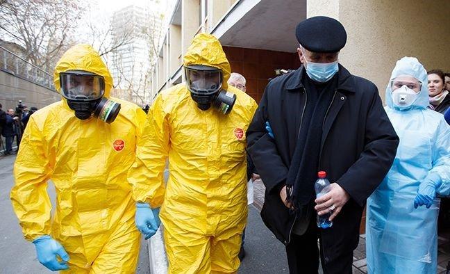В Украине первый случай коронавируса