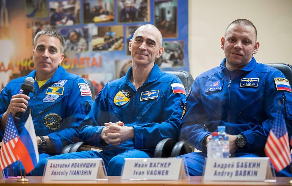 австронавты экспедиция на МКС