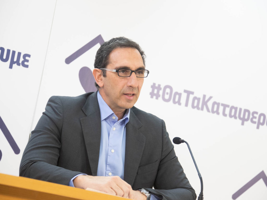 министр здравоохранения Кипра Константинос Иоанну