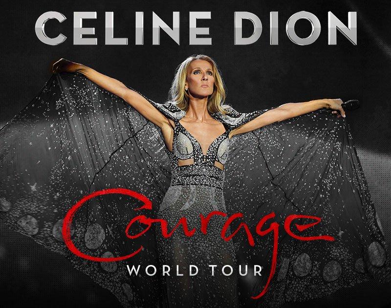 Селин Дион мировой тур Courage
