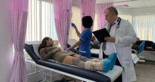 Юрий Николенко в клинике на Кипре