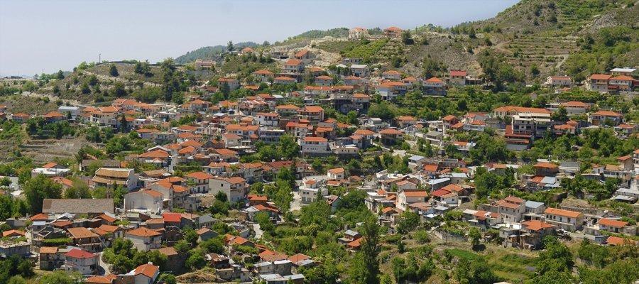 деревня Киперунда на Кипре