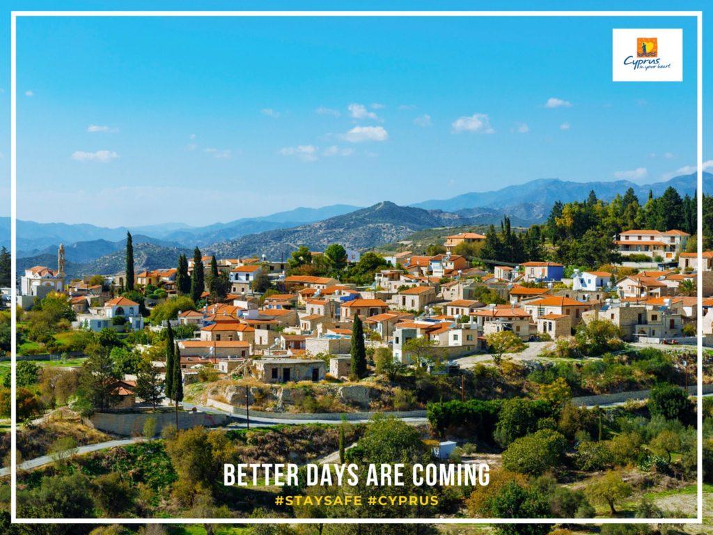 Деревня на Кипре Като Дрис