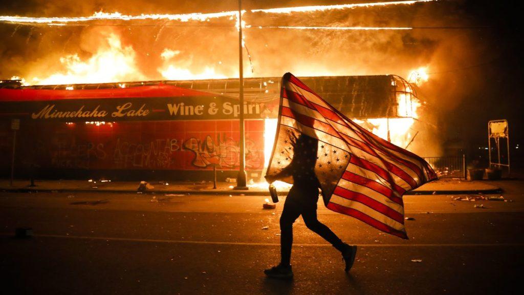 Джордж Флойт протесты в США