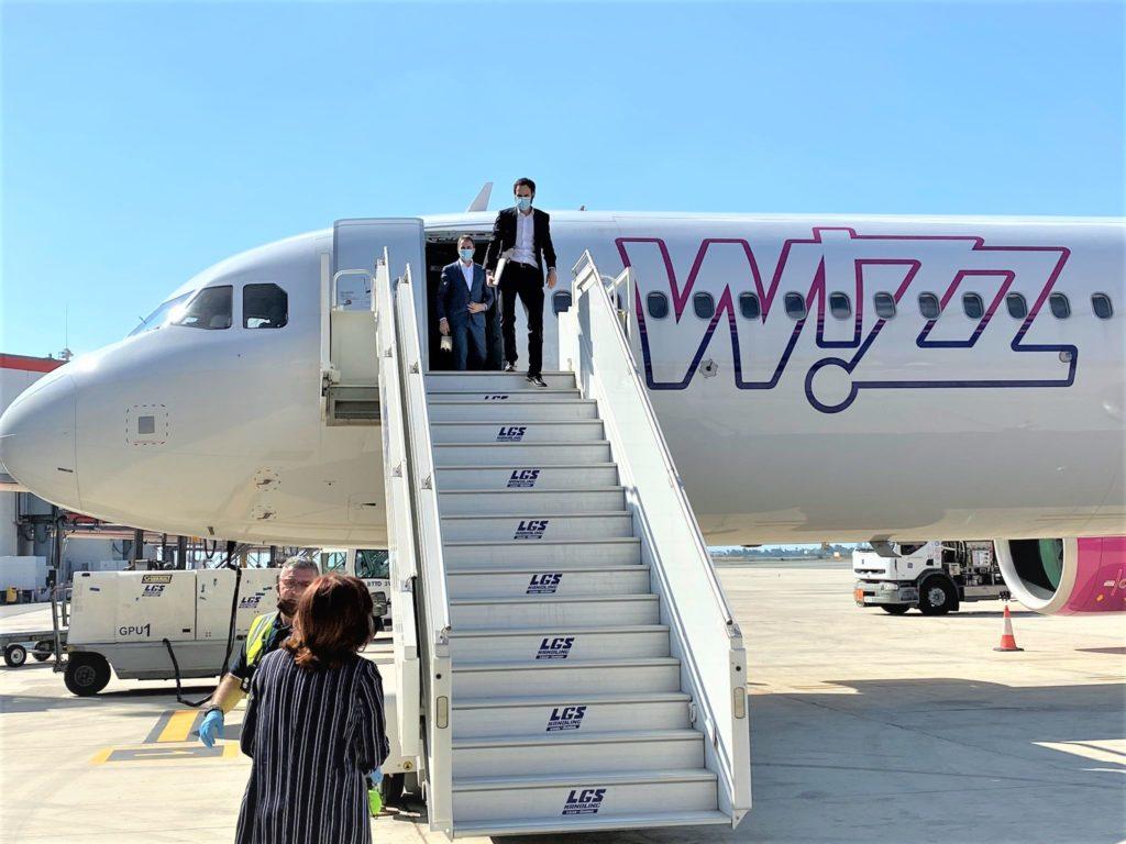Wizz Air начнет летать с Ларнаки