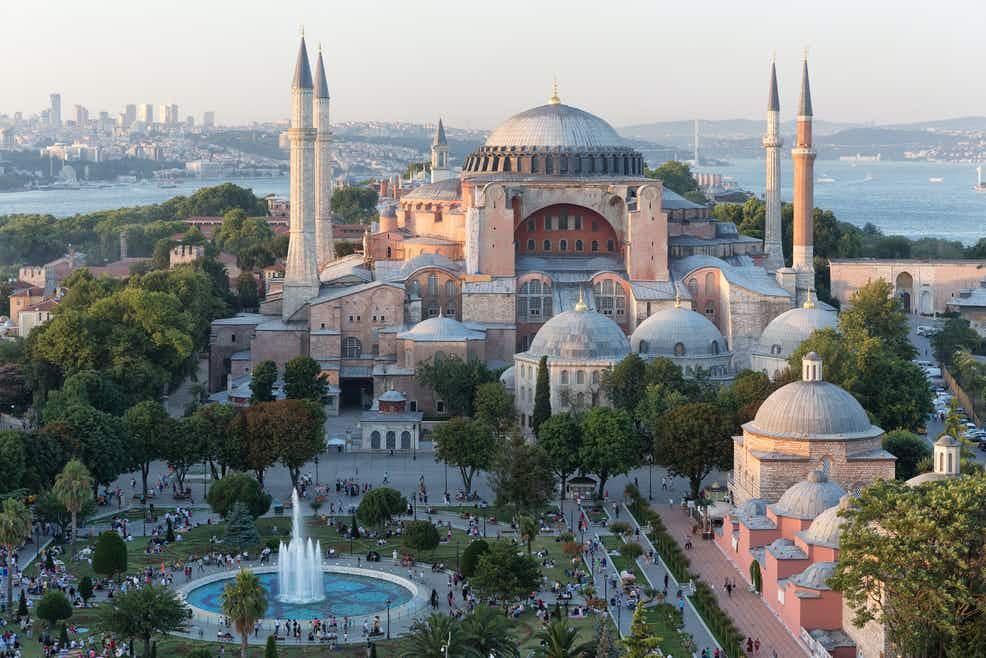 Собор Святой Софии в Турции