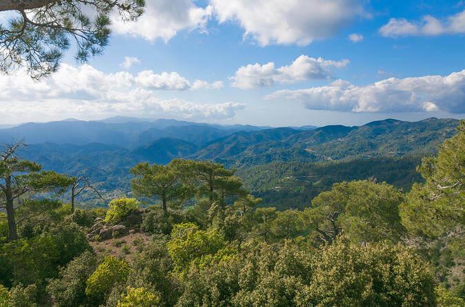 горы Тродос на Кипре